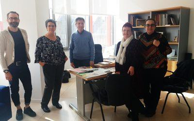Amigos de Serrablo visita a Marisancho Menjón, directora general de Patrimonio del Gobierno de Aragón
