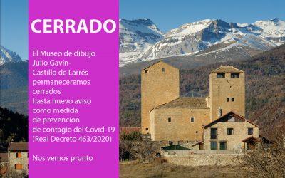 Cerrado el Museo de dibujo Julio Gavín-Castillo de Larrés